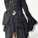 a15c36a35c393  Punk elements added to the Gothic Lolita Princess sleeve dress