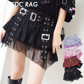 Pleated pants skirt mass order Hara-Juku ACDC RAG fashion school event dance concert live costume