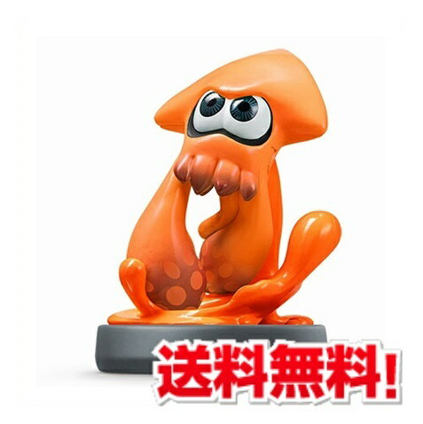 amiibo イカ【オレンジ】 (スプラトゥーンシリーズ) [Nintendo 3DS]