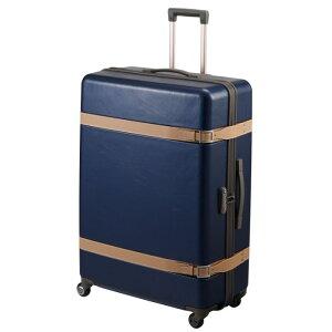 スーツケース プロテカ ジーニオセンチュリーZ 115リットル ジッパータイプ キャスターストッパー搭載 2週間以上用 大型 LLサイズ キャリーバッグ キャリーケース 02813