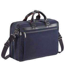 ビジネスバッグ メンズ ブリーフケース エース ジーン レーベル ace. ディバイドリム 2気室/B4サイズ マチ拡張・エキスパンダブル 15インチPC対応 通勤バッグ 出張 55574
