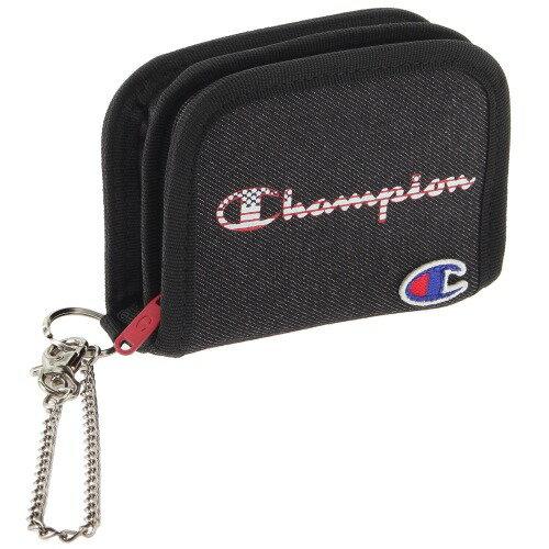 ウォレット Champion チャンピオン サリンジャー 二つ折り財布 キッズ コインケース・ウォレットコード付き メンズ レディース ファスナー マジックテープ 57151