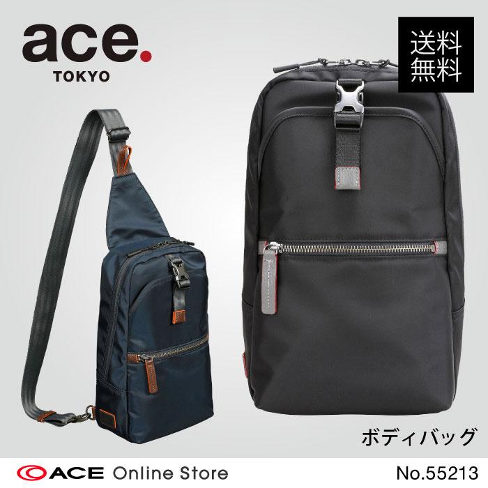 ボディバッグ メンズ 40代 ace. TOKYO LABEL シティーレA ワンショルダー ショルダーバッグ 55213