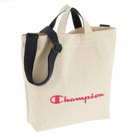 チャンピオン トート ショルダー 2WAY キャンバス地 レディース B4収納可 2WAYショルダーバッグ 旅行 サブバッグ ヒューイ 57766