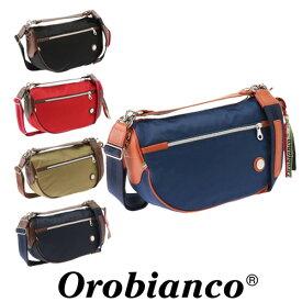 ショルダーバッグ メンズ レディース オロビアンコ ナイロン orobianco イタリア製 ハンドバッグ 2wayバッグ|TRUCCO-G 04 アクセサリー気分で使える独特のフォルムが目を引く 90701