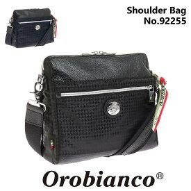 オロビアンコ ショルダーバッグ Orobianco メンズ カジュアル ヨコ型 斜め掛け サブバッグ 千鳥格子 クラッチバッグ 正規品 SARANGINO DIDAL 92255