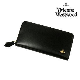 d9d7d69fcff0 ヴィヴィアン ウエストウッド ヴィンテージオーブ ラウンドファスナー ウォレット/ブラック(3118M121)(Vivienne