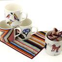 ポールスミス ハンカチマグカップセット#2(Paul Smith)【コップ マグカップ ハンカチ プチギフト 食器 お茶用品 コー…
