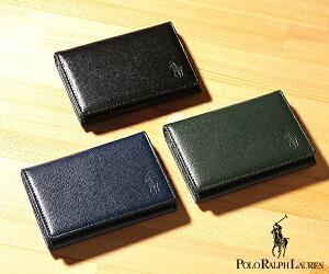 ★ラルフローレン 財布 メンズ エンボスENBOSS カードケース[P-1060 Orin](Polo Ralph Lauren)【名刺入れ メンズ ギフト】★☆【あす楽】