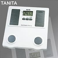 TANITA 体脂肪計付ヘルスメーター TBF564 体の革命!運命を変える5つのSTEPをサポートします!!