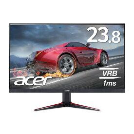 【動きの速いシーンも滑らかに!】ゲーミングモニター 1ms 75Hz IPS 非光沢 23.8インチ ディスプレイ パソコン(PC)モニター Acer エイサー VG240Ybmiix 1920×1080 16:9 250cd ミニD-Sub 15ピン HDMI ゲーム 新品