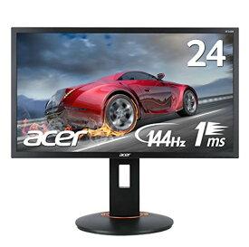 【動きの速いゲームの映像も滑らか!】144Hz フルHD 1ms 24インチ ゲーミングモニター パソコン(PC)モニター ディスプレイ ゲーム Acer エイサー XF240Hbmjdpr TN 非光沢 DVI-D(Dual Link対応) HDMI v1.4 DisplayPort v1.2 新品