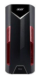 最短1営業日で配送!Acer ゲーミング デスクトップパソコン Nitro N50-600-N78G/G6 Core i7 GeForce GTX1060 8GB 128GB SSD+1TB HDD Windows 10[新品 送料無料 本体のみ]
