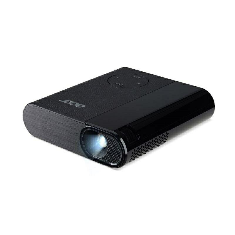 【新品・送料無料】【バッテリー内蔵で出張、アウトドアに大活躍!】小型のモバイルプロジェクター エイサー Acer C200 200ルーメン HDMI 350g 高画質 iphone PC スマホ ゲーム USB 充電 軽量 コンパクト