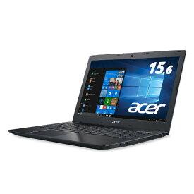 【Core i3 1TB HDD、4GBでこの価格!】WPS Office付き Core i3-7500U 1TB HDD 4GB ノートパソコン 新品 15.6インチ Windows10 Acer エイサー Aspire E5 ブラック E5-576-N34G/K