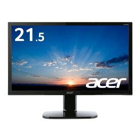 【ビジネス・ゲームなど幅広い用途に!】パソコン(PC)モニター フルHD 5ms ディスプレイ 液晶モニター ゲーム Acer エイサー KA220HQbmidx 21.5インチ 非光沢TNパネル HDMI端子 ステレオスピーカー PCモニター PCディスプレイ 新品