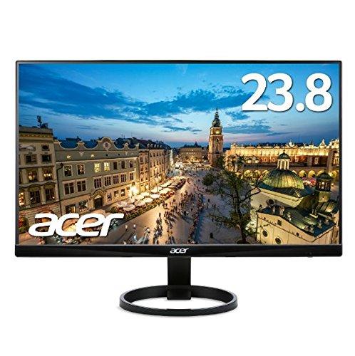 【新品・送料無料!ディスプレイ!】Acer エイサー パソコン(PC)用液晶モニター R240HYAbmidx 23.8インチ VA フレームレス フルHD 4ms HDMI端子 ステレオスピーカー