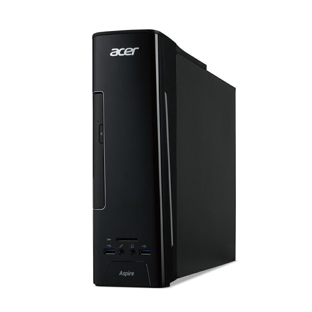 【新品 送料無料 Core i5】エイサー スリムタイプデスクトップパソコン XC-780-N58F Windows 10 Core i5-7400 8GBメモリ 1TB HDD DVDスリムドライブ ブラック