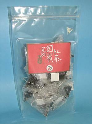 中国茶ティーバッグ『宜興国賓紅茶』1袋2.5g・10個入