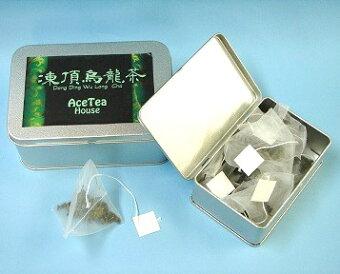 中国茶ティーバッグ『凍頂烏龍茶』1缶2g・20個入