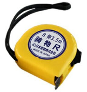 日本度器 イモノコンベックス(スチール製) 鋳物尺 伸縮率8伸 16mm幅 3.5m MC08-1635