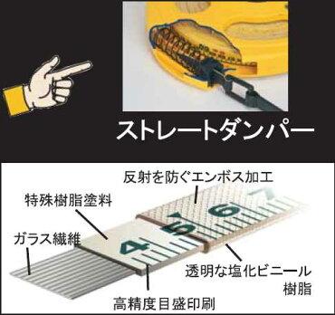 MYZOXマイゾックスガラス繊維製巻尺マイグラス本体3倍速50mMYG-50テープ幅13mmテープ厚0.55mm重量930g