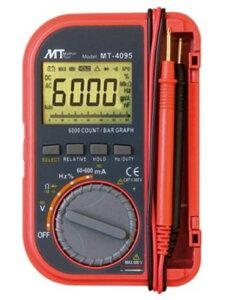 マザーツール ポケット型デジタルマルチメーター MT−4095 6000カウント バーグラフ付多機能タイプ