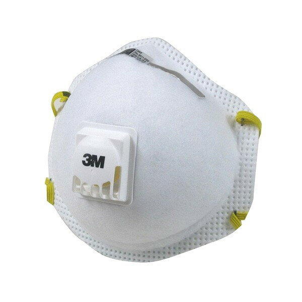 3M 防塵簡易マスク NO.8511-DS2(微細粉じん用)10枚入【災害/噴火/工事現場/研磨作業/粉塵/溶接】