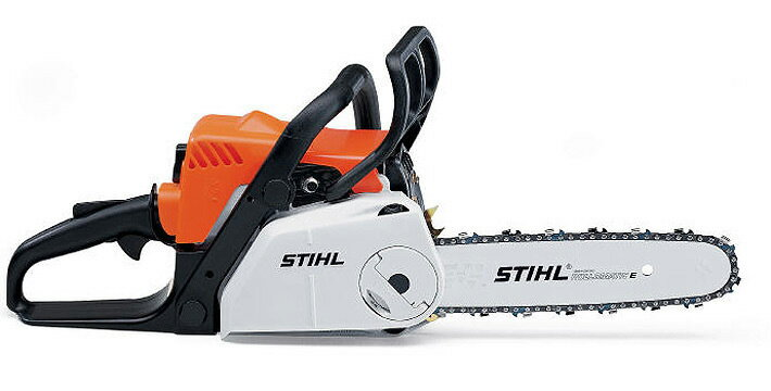 【送料無料】STIHL(スチール) 軽量コンパクトエンジンチェンソー MS180C-BE ガイドバー35cm 【林業/農林/木材切断/伐採/園芸/ガーデニング/剪定/造園】