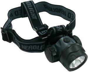 防水ヘッドランプ アクアヘッドライトPRO KE−180 水深1m アウトドア キャンプ 釣り 野外 夜間工事現場 ヘルメット装着可能