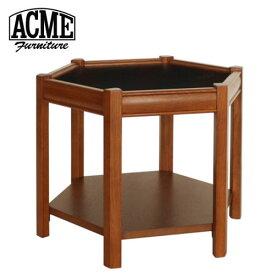 ACME Furniture アクメファニチャー BROOKS HEXAGONTABLE ブラック ブルックス ヘキサゴンテーブル 家具 テーブル サイドテーブル【送料無料】【ポイント10倍】