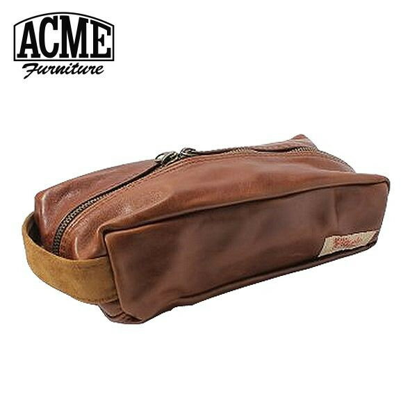 ACME Furniture アクメファニチャー BOX CASE CHESUNUT レザーボックスケース チェスナット 幅26cm【送料無料】