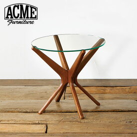 ACME Furniture アクメファニチャー TRESTLES SIDE TABLE 50cm CLEAR テーブル【送料無料】【ポイント10倍】