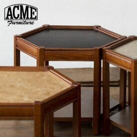 ACME Furniture アクメファニチャー BROOKS HEXAGONTABLE ブラック ブルックス ヘキサゴンテーブル 家具 テーブル サイドテーブル【送料無料】