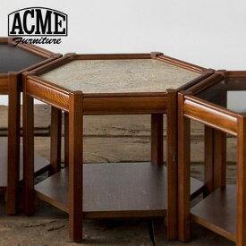 ACME Furniture アクメファニチャー BROOKS HEXAGONTABLE グレー ブルックス ヘキサゴンテーブル 家具 テーブル サイドテーブル【送料無料】