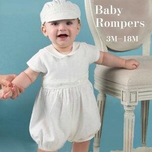 ベビー ドレス 男の子 セレモニードレス ロンパース フォーマル 男の子 セレモニードレス 赤ちゃん 3ヶ月 6ヶ月 12ヶ月 18ヶ月 24ヶ月 bw-010