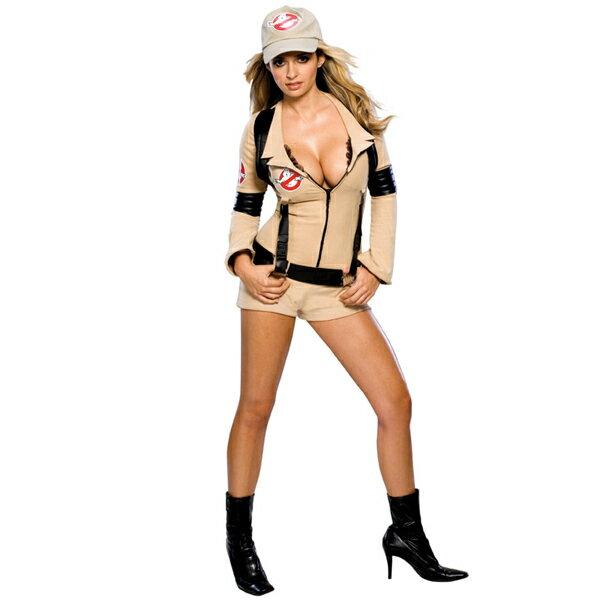 ゴーストバスターズ コスプレ コスチューム 衣装 大人 女性用 レディース セクシー 映画 ハロウィン 仮装 あす楽