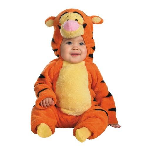 ハロウィン 赤ちゃん ディズニー コスチューム ベビープー ディズニー くまのプーさん プーさん ティガー 赤ちゃんコスプレ衣装 着ぐるみ