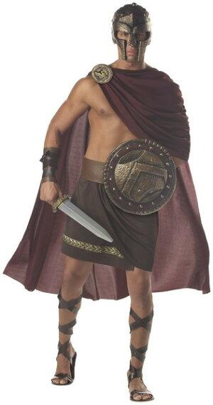 古代ギリシャスパルタン勇士大人用コスチューム32526