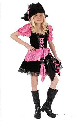 ハロウィン プレゼント パイレーツ 衣装 コスプレ 衣装 ハロウィン コスチューム ピンクの海賊 あす楽