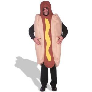 ハロウィン ホットドッグ 着ぐるみ おもしろい コスチューム おもしろコスプレ 食べ物 大人 仮装 ホットドッグベッド ソーセージ ホットドッグの丸かじり ホットドッグベッド ソーセージ