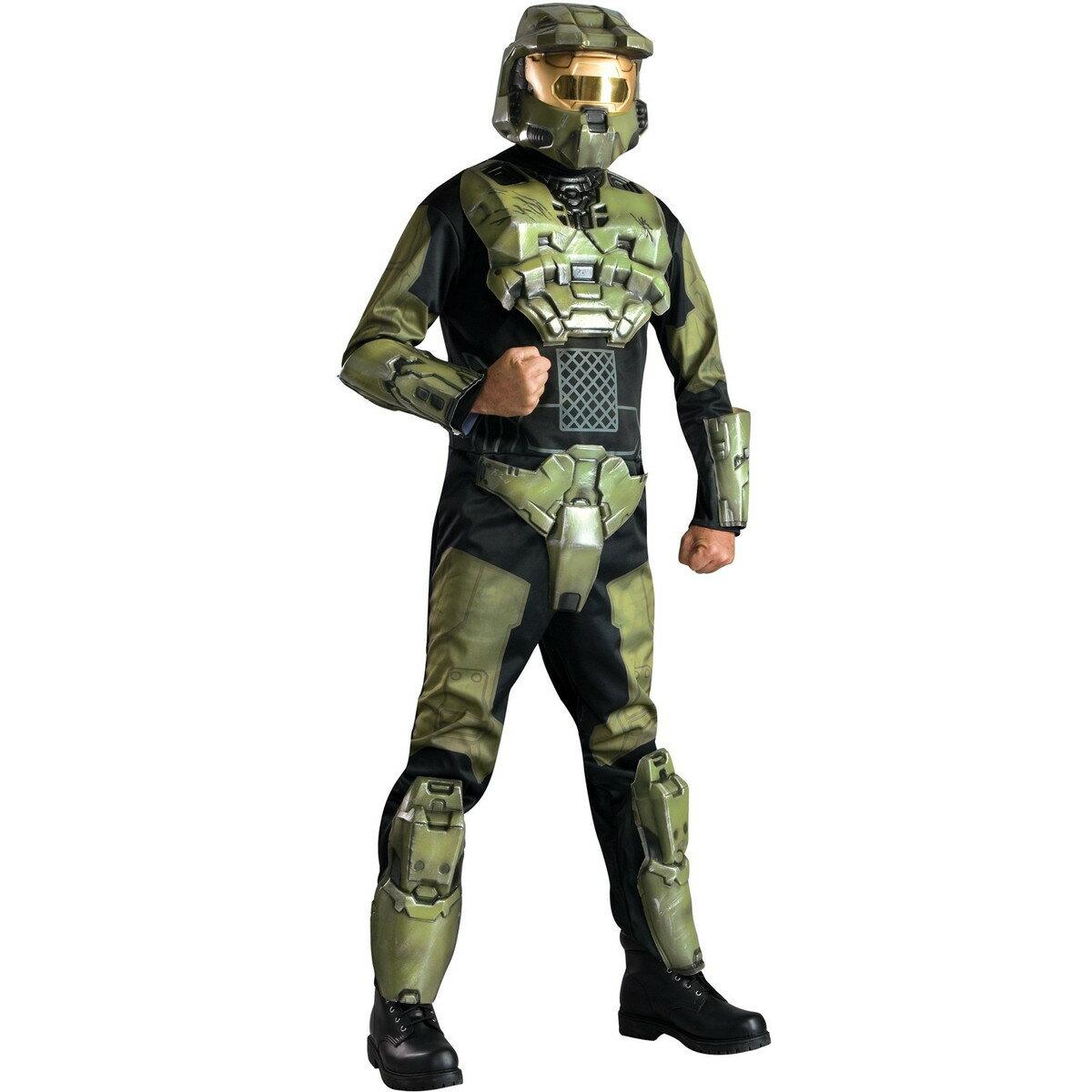 ハロウィン 衣装 ヘイロー3 マスターチーフ 大人 メンズ コスチューム コスプレ 仮装 あす楽