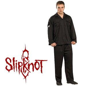 スリップノット コスチューム つなぎ ツナギ 制服 ライブ 衣装 大人 黒のフライトシャツ slipknot