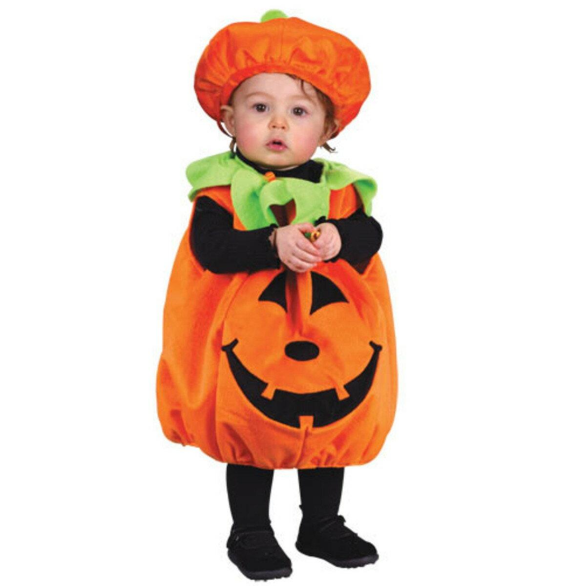 衣装 ベビー かぼちゃ 赤ちゃん 着ぐるみ パンプキンコスチューム あす楽