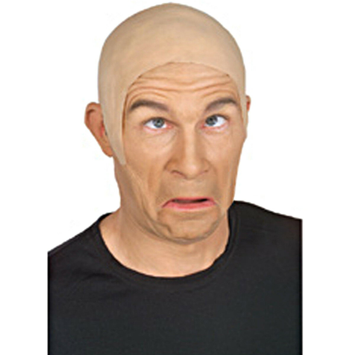 かつら ヅラ はげ ハゲ スキンヘッド 坊主 大人 おもしろ コスプレ 仮装 特殊メイク グッズ あす楽