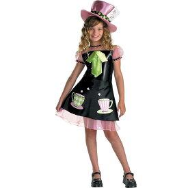 マッドハッター コスプレ ハロウィン 衣装 キッズ 子供 マッドハッター 女の子 コスチューム