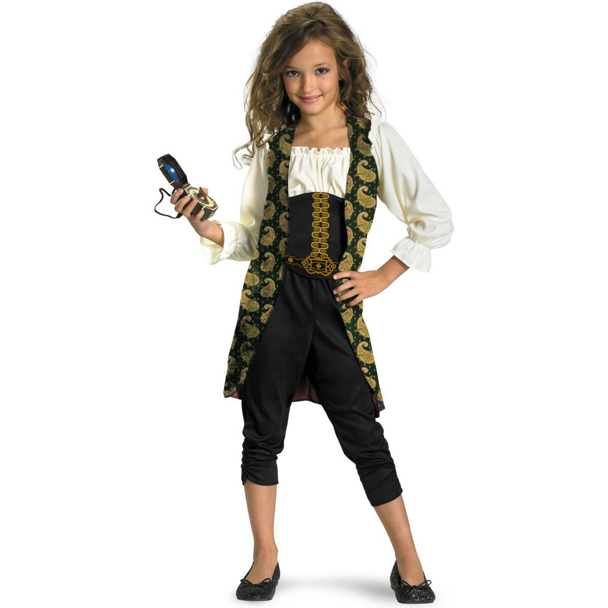 パイレーツ・オブ・カリビアン 衣装 コスプレ 子供 女の子 アンジェリカ コスチューム ハロウィン 仮装 あす楽