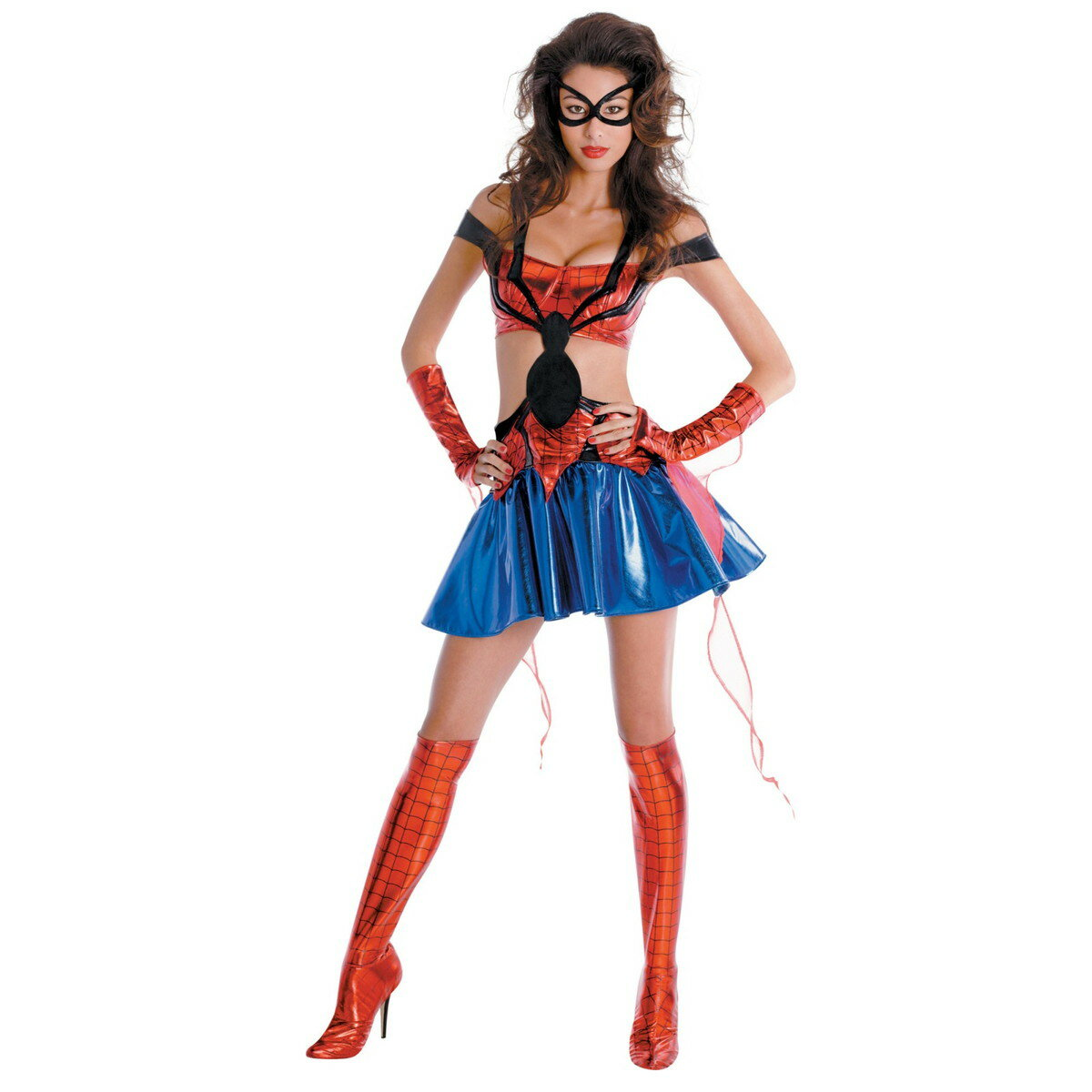 ハロウィン スパイダーマン コスプレ 衣装 スパイダーマン コスチューム スパイダーガール セクシー コスチューム 大人用