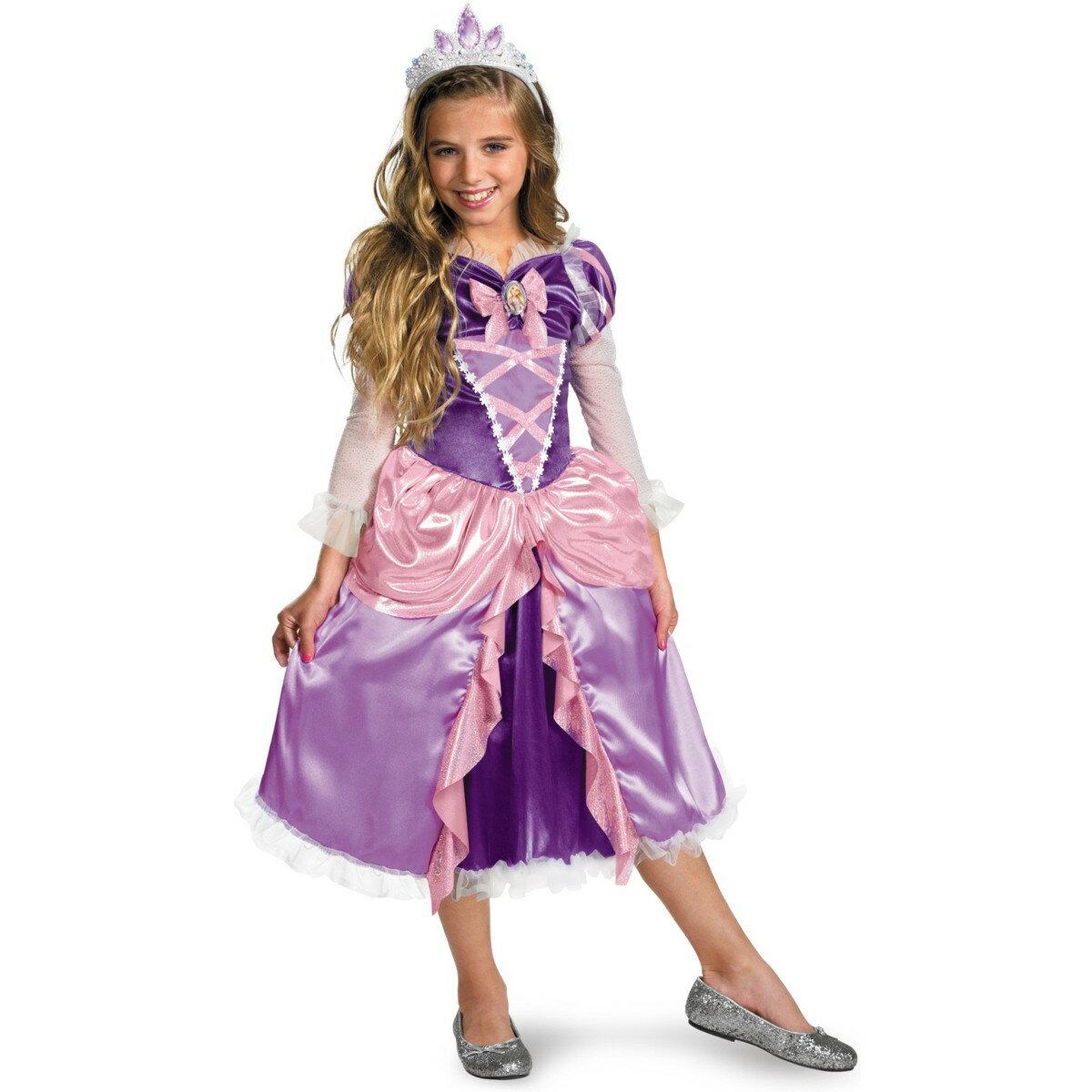 ハロウィン ラプンツェル コスプレ ドレス 子供 女の子 衣装 コスチューム セット あす楽