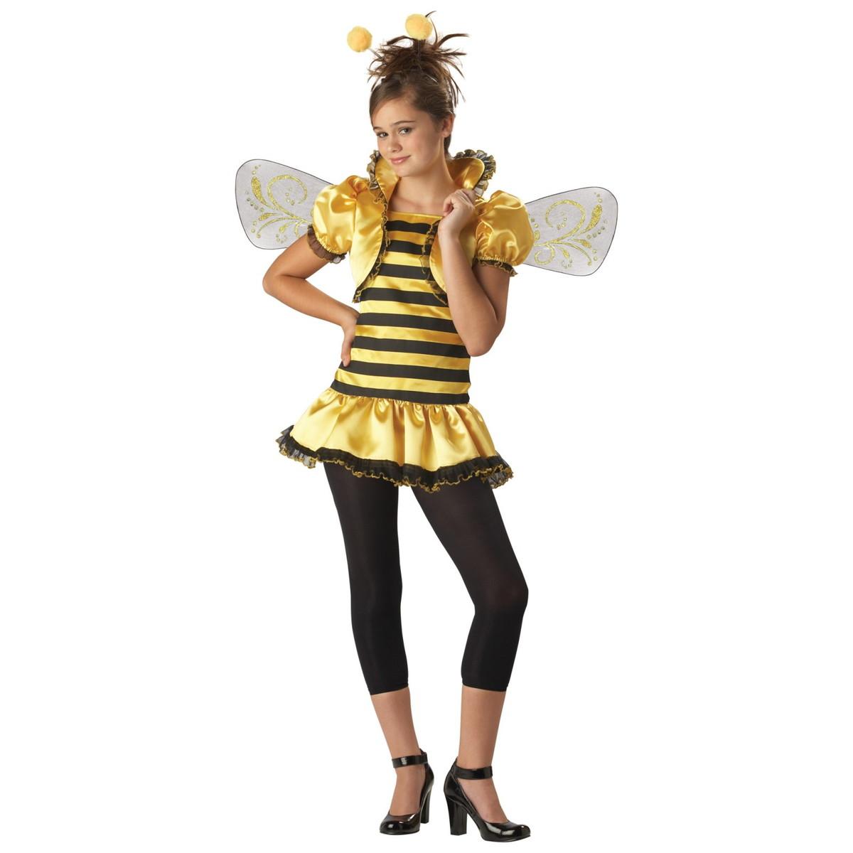 在庫処分市 蜂 ミツバチ コスプレ コスチューム 女の子 昆虫 ハロウィン 仮装 あす楽